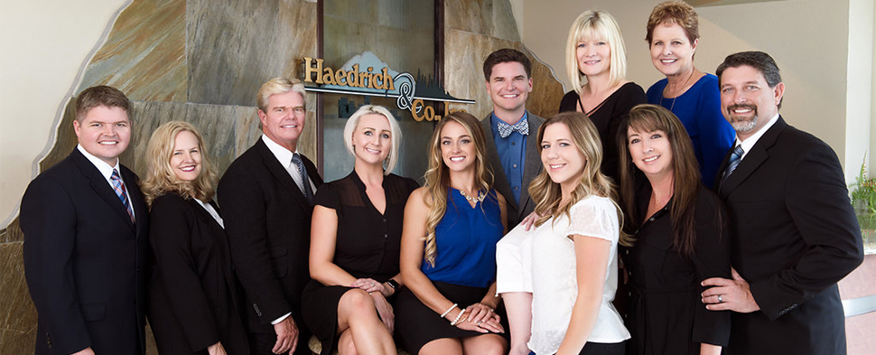 Group Photo of Haedrich Employees